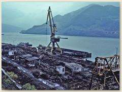 06 Verladehafen von Berzasca, Von der Waldbahn aufs Schiff