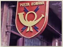 35 Rumänische Post