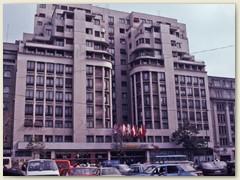 36 Letzte Übernachtung im Ambasador Hotel, Magheru, Bukarest