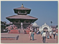 09 Eine Pagode in Kathmandu