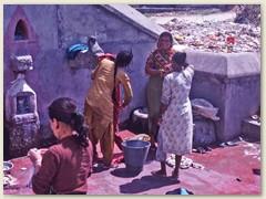 17 Eine Waschküche in Kathmandu 1991