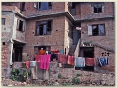 19 Wäscheleine von Wohnung zu Wohnung