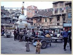 20 Wagen für den Transport von Gütern und Waren in der Innerstadt