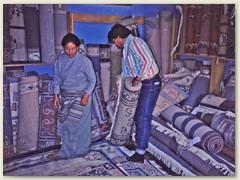 47 Teppichhändler in Patan