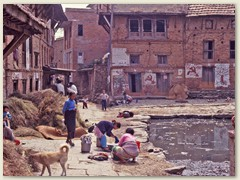 65 Dorfwäscherei in Poshupatinath
