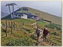 01 August 1982 - Mit der Luftseilbahn auf die Tschentenegga