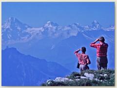 11 Prächtige Fernsicht in die Berner Alpen