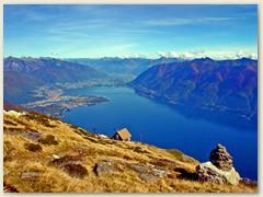 12 Schöne Aussicht auf den Lago Maggiore