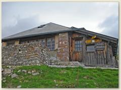 14 Grubenberghütte - unser Nachtlager