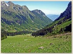 08 Blick Talwärts ins L'Au de Morge