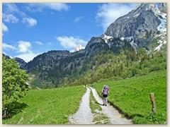 23 Anderntags wieder Richtung Montagne de Loz