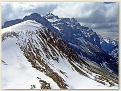 26 Auf dem Tête de Charousse Richtung Col de Bise (F)
