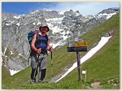 38 Auf dem Col de Verne und Cornettes de Bise