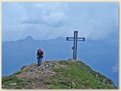 07 Gipfelkreuz des Pizzo Molare 2585 m