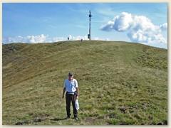 """06 Der """"Gipfel"""" des Monte Bar 1816 m"""