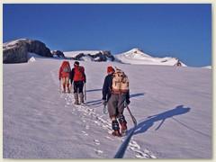09 Hinter der Felsbarriere erreichen wir den Glacier du Wildhorn