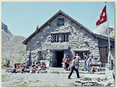 22 Zurück in der Wildhornhütte SAC 2303 m