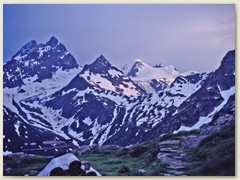 01 Abendstimmung im Sustengebiet von der Sustlihütte SAC 2257 m