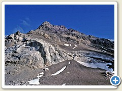 08 Vorgipfel und Westwand des Oldenhorns von der Tête aux Chamois aus gesehen