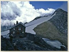 11 Die Britanniahütte SAC - unser Nachtlager