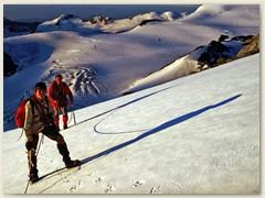 24 Auf dem Hohlaub Gletscher, ca 3200 m