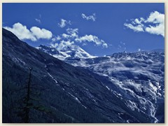 60 Letzter Blick aufs Allalinhorn  -  ich komme wieder  -