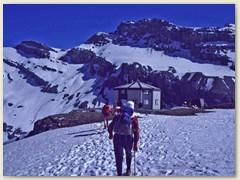 16 Die alte Lämmerenhütte SAC