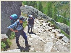 03 Aufstieg auf dem Hüttenweg