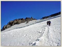 14 Das Ziel, der Gipfel naht