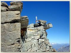 15 Die Madonna auf dem höchsten Punkt, 4061 m.ü.M