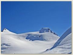 27 Nochmals die Signalkuppe mit Colle Gnifetti und Zumsteinspitze