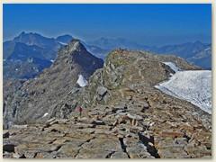 37 Nun kommen schneefreie Gipfel - Stolembeerg und Gemschhore