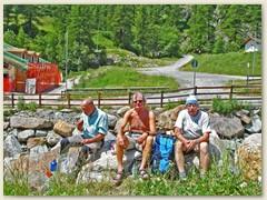 39 Glücklich, gesund und zufrieden, zurück in Stafal im Val de Gressoney