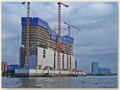 18_Die Elbphilharmonie ist ein seit April 2007 im Bau befindliches Konzerthaus in der HafenCity in Hamburg