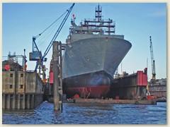 27_Werften in Hamburg haben das Bild des Hamburger Hafens von jeher mitgeprägt