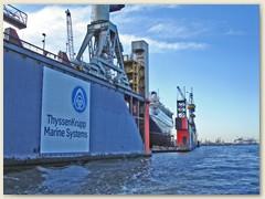 31_Die ThyssenKrupp AG ist ein deutsches Industrieunternehmen und Deutschlands größtes Stahl- und Technologieunternehmen