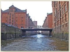 35_Die Speicherstadt wurde ab 1883 als Teilstück des Hamburger Freihafens erbaut