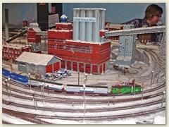 43_Die LKAB Luossavaara-Kiirunavaara Aktiebolag ist ein Schwedisches Bergbauunternehmen, das in Kiruna Eisenerz fördert