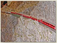 46_Die RhB,  rätoromanisch Viafier retica, ist ein Eisenbahnunternehmen mit Streckennetz überwiegend im Kt. Graubünden