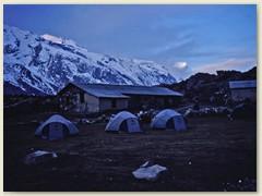 39 Das ist unser hinterster Lagerplatz im Langtang. Kyangjin Gompa in der Nähe von Langsisa 4100 m