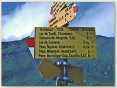 01 Unser Weg zur Capanna Cadlimo SAC auf dem Oberalppass 2044 m