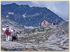 06 Die Cadlimohütte in Sichtweite