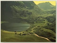 15 Lago Cadagno und die Häuser von Cadagno di Fuori 1917 m