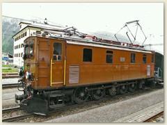 """07r Die Ge 4/6 Nr. 353 """"Oerlikoner"""" wurde 1914 in Betrieb genommen. Heute wird sie für Sonderfahrten eingesetzt"""