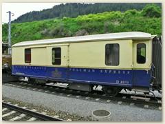 16r D 4051 Gepäckwagen des Alpine Classic Pullman Express