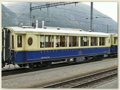 17r Ein mondäner beliebter Personenwagen des Pullman Express