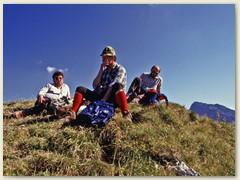 05 Auf dem Schopfenpitz 2104 m, im südwestlichen Kantonsteil von Fribourg