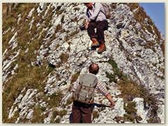 08 Gehen im leichten Gelände, sagte Dieter