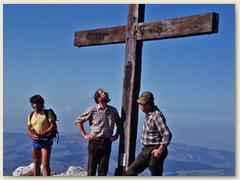 22 Kaiseregg Gipfelkreuz 2185 m