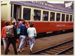 Mit der Appenzeller Bahn nach Weissbad